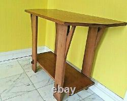 Arts and Crafts Side Table. Display or Hall or Console