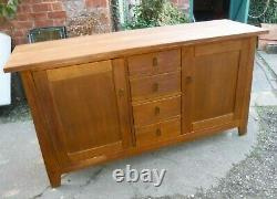Arts and Crafts Style Sideboard (589P)