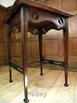 Arts and Crafts Table In the Manner of Shapland and Petter Circa 1900