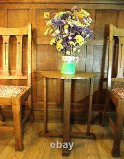 Arts and Crafts Table in Oak Circa 1900 Cotswold School of Arts and Crafts