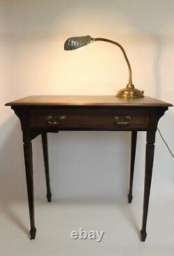Arts and Crafts mahogany writing desk