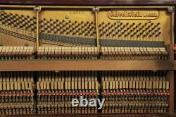 Arts and Crafts style, Bechstein upright piano. Designed by Walter Cave