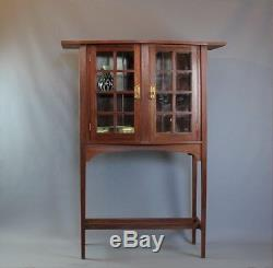 Arts and crafts Glasgow School display cabinet by George Walton