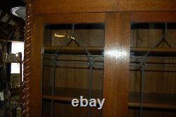Arts and crafts oak bookcase, retro, vintage, liberty's, home
