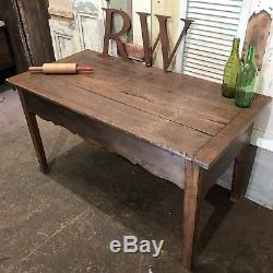 Beautiful Antique French Dough Bin Table Sideboard Arts And Crafts Handmade