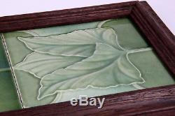 C F A Voysey Arts and Crafts J C Edwards Tiles 1893 Tile Ruabon