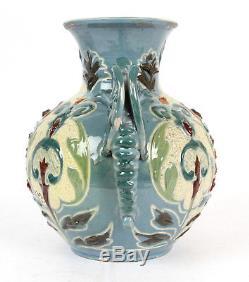 C H Brannam Devon Pottery 1897 Arts And Crafts Dragon