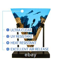 Craft Resin 4l Crystal Clear Fast Cure Epoxy Resin For Art And Crafts 11 Ratio