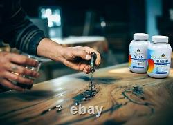 Craft Resin Kit Crystal Clear Fast Cure Epoxy Resin For Art And Crafts 11 Ratio