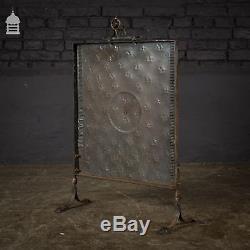 Decorative Arts and Crafts Copper Fire Screen