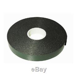 Double Sided BLACK Number Plate Tape Strong Adhesive Foam Pads on Roll 2.5M WOW