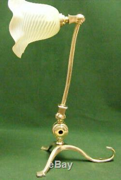 Edwardian/ Arts And Crafts Wall/table Lamp/ Benson Type