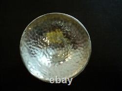 Edwardian arts and crafts raised bowl. ELKINGTON & Co Ltd. London 1905