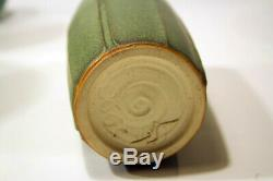 Fantastic Jemerick Pottery Matte Green Contemporary Arts and Crafts Vase 8