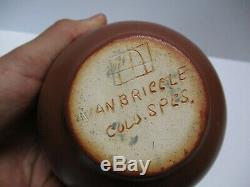 Fine Old Antique Van Briggle Pottery Vase Pot Painting Arts And Crafts Rare Bowl