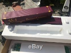 G scale Aristo Craft ART-50802 ECS twin intermodal containers and wagons