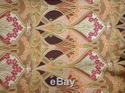Gorgeous Vintage Liberty Ianthe Curtains 84 Long 45 Wide Arts And Crafts