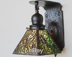 Handel needle sconce 1of 8 available, mission, arts and crafts, lamp