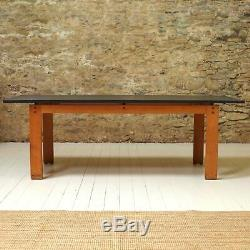 Heal and Co (Ambrose Heal) Arts & Crafts Cotswold School 7 foot Dining Table