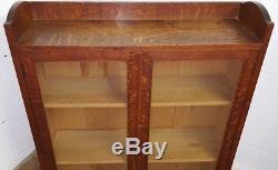 Heals Arts And Crafts Oak Bookcase C1920