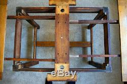 Heals of London Antique Limed Oak Dining Table Arts and Crafts