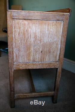 Heals of London Antique Limed Oak Sideboard 1920's/1930's/Arts and Crafts