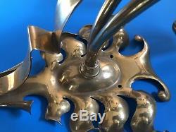 Huge Arts And Crafts / Art Nouveau Wall Light / Lamp / Light