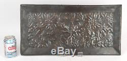 Keswick School of Industrial Art Copper Arts and Crafts Fire Place Panel Newlyn
