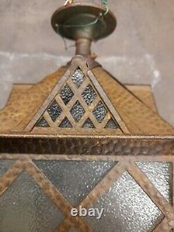 Lantern brass. Arts and Crafts