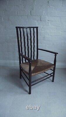 Liberty co, William Morris, Arts and Crafts fireside arm chair