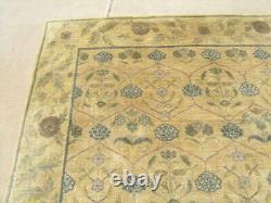 Lovely Vintage Tibetan Arts and Crafts Voysey Design Oriental Rug Carpet 96x118