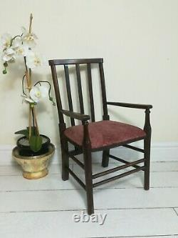 Morris and Co Liberty Apprentice Chair Stamped FW Arts And Crafts Movement