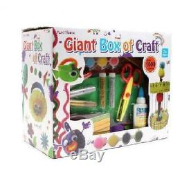 New Gigantic Box of Craft 1000pcs Arts And Crafts Box Set Kit Children Kids Gift