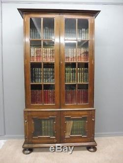 Oak Arts And Crafts Bookcase
