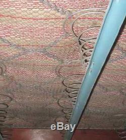 Original Arts and Crafts Oak bed frame