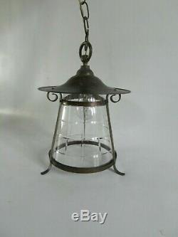 Original Arts and crafts ceiling light