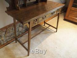 Outstanding Arts and Crafts Ash dressing table Shapland and Petter c1900