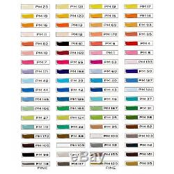 Prismacolor 3722 Premier Double-Ended Art Markers, Fine and Chisel Tip, 72-Co