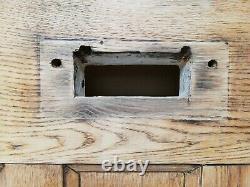 RECLAIMED ARTS AND CRAFTS OAK FRONT DOOR W 800mm H 2010mm ref DE0854