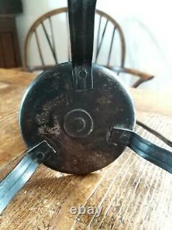 Rare Goberg Hugo Berger Arts And Crafts Wrought iron Candlestick