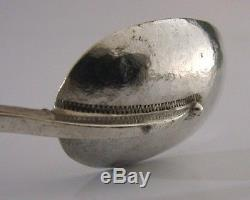 Rare Michael Allen Bolton Long Sterling Silver Arts And Crafts Spoon 1989