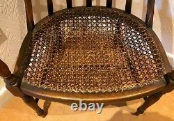 Rare and interesting Arts and Crafts open arm chair (Ref 19.12.024)