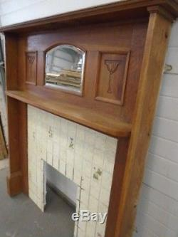 Reclaimed Arts and Crafts Oak Fire Surround