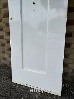 Reclaimed Arts and Crafts Oak Wooden Panel Front Door 2025 x 805mm
