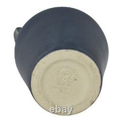Rookwood Pottery 1922 Dark Blue Handled Arts and Crafts Vase 2561