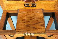 Scottish Arts and Crafts Oak Hall Stand (100880)