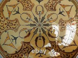 Sidney T. Callowhill Decorative Plate Lusterware Arts and Crafts Period Holder