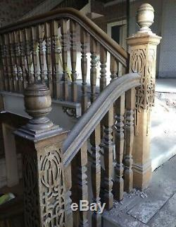 Staircase Newel Post Reclaimed Arts And Crafts Art Nouveau Style