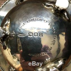 Stunning Artists Rifles Arts and Crafts Silver Bowl by Omar Ramsden & Alwyn Carr