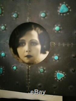 Stunning Original Arts And Crafts, Art Nouveau, Pewter & Ruskins Frame/mirror